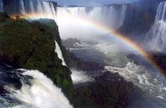 Iguazu Falls on a motorcycle tour
