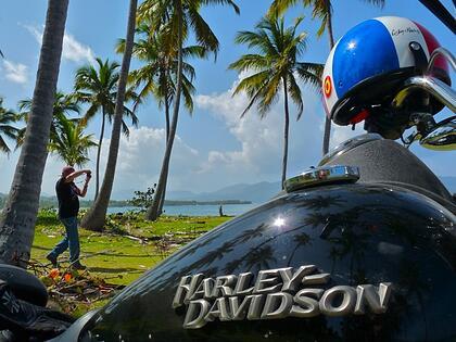 Harley Tour in Caribbean