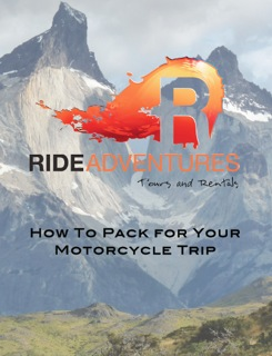 How to Pack Motorcycle Trip