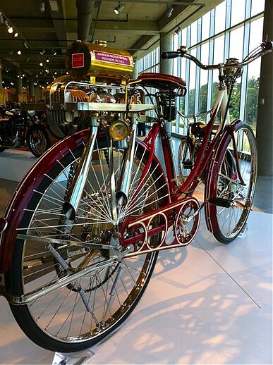 Barber Museum Bike by Johnson