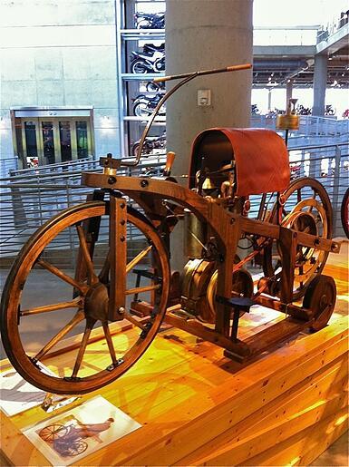 Maybach-Daimler Reitwagen