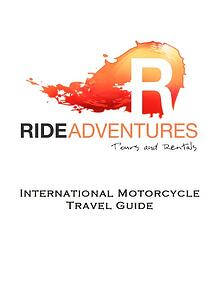 Motorcycle Travel Guide