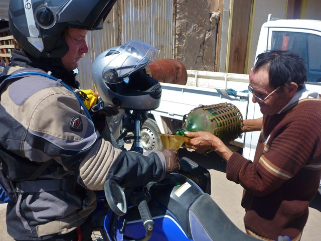 Motorcycle Fueling