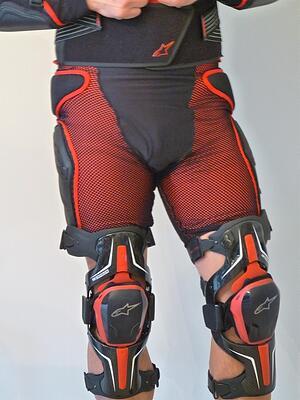 Motorcycle Gear Shorts Knee