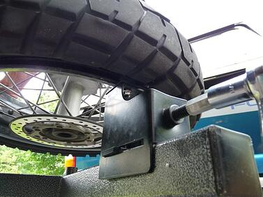 No-Mar Tire Changer bottom view
