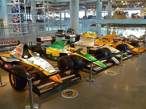 Race Cars at Barber Museum