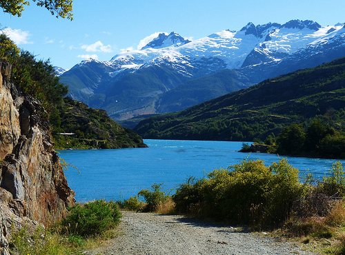 Puerto Tranquilo Patagonia Lake Mountain