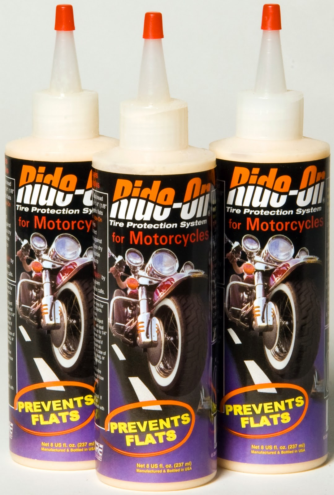 Motorcycle Tire Sealant Ride-On