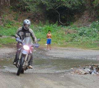 Bolivia motorcycle ride