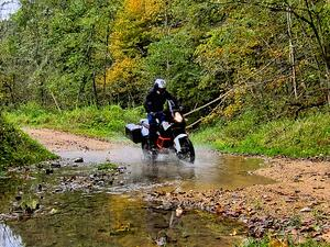 off road motorcycle riding