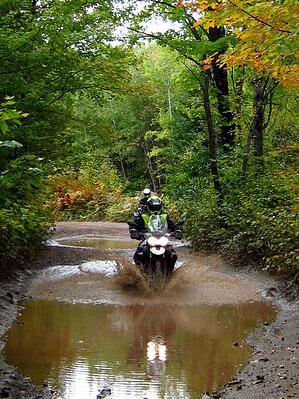 weekend motorcycle adventure