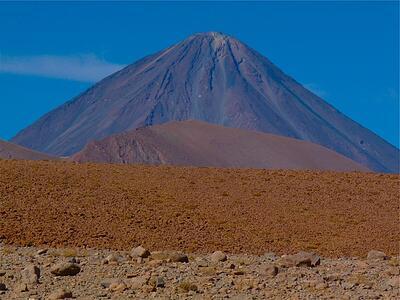 VolcanoNearSanPedroDeAtacama