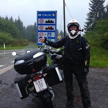 Riding Italy Dolomites