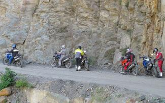 Andes Mountains Peru Motorcycles