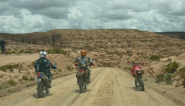 Dirt Riding Motorcycles Bolivia