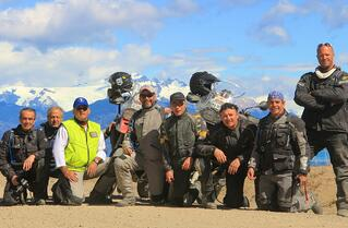 Group motorcycle trip Patagonia