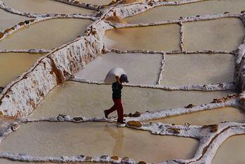 Farmers in Peru
