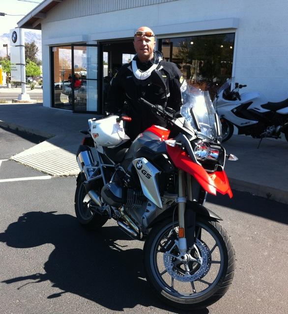2013 R1200GS Test Ride