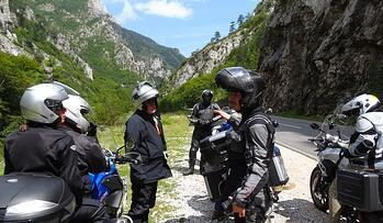 Tara River Canyon Motorcycle