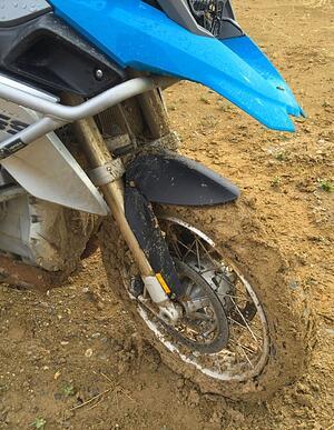 Muddy R1200GS Ruta40