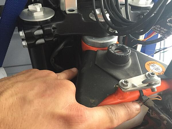 Rox Risers KTM 690 Enduro