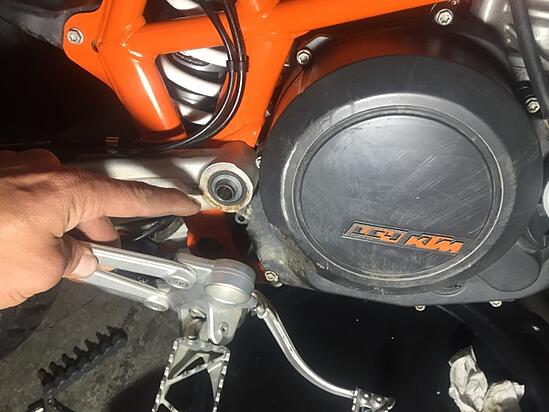 KTM Clutch Cover Replacement