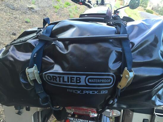 Ortlieb Motorcycle Rack Pack Duffel Bag