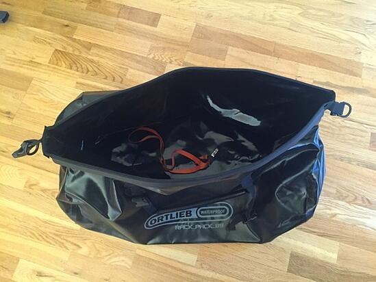 Ortlieb Rack Pack Motorcycle Trip