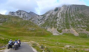 Motorcycle Trip Montenegro BMWs