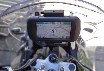 Garmin Montana for BMW Motorcycle