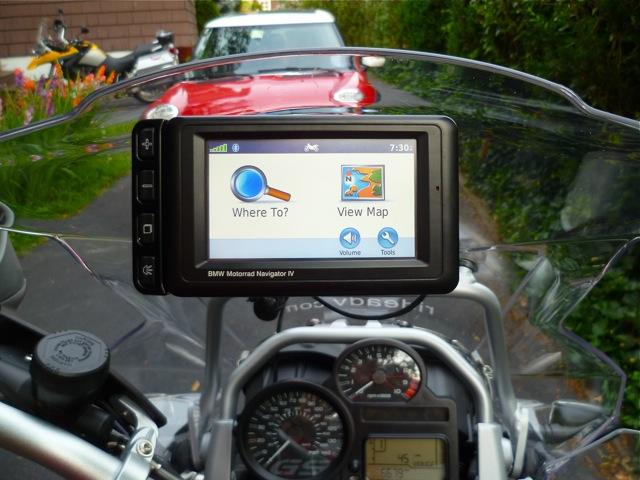 BMW Motorrad Navigator IV