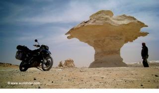 worldrider allan karl white desert sahara egypt