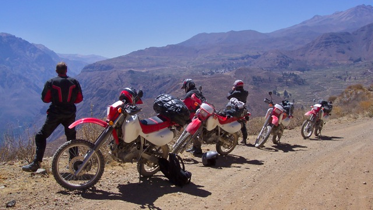 Motorcycling Peru