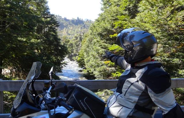 River Crossing Pucon Patagonia
