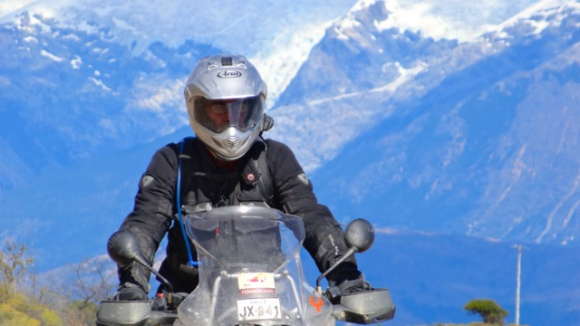 BMW Rider in Patagonia