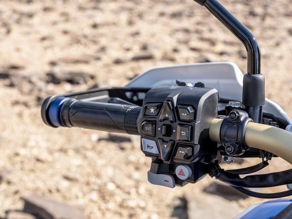 2020 Honda Africa Twin electronic controls