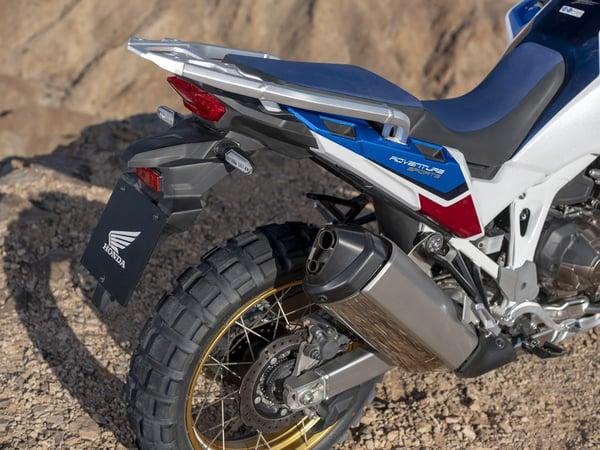 2020 Africa Twin Adventure Sports exhaust