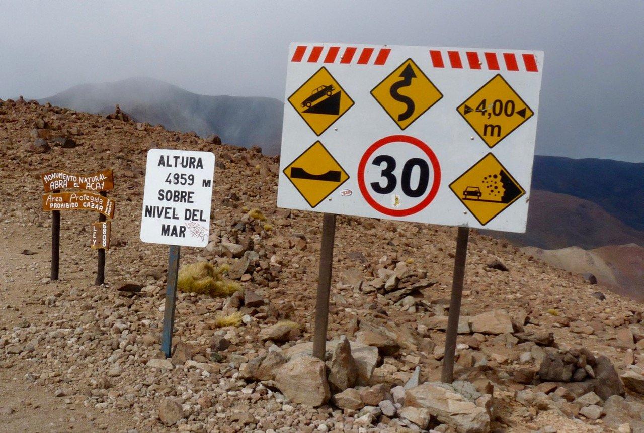 Abra del Acay Paso Argentina