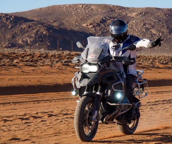 Riding California deserts