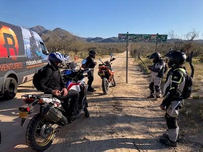 Support Van on Motorcycle Trip