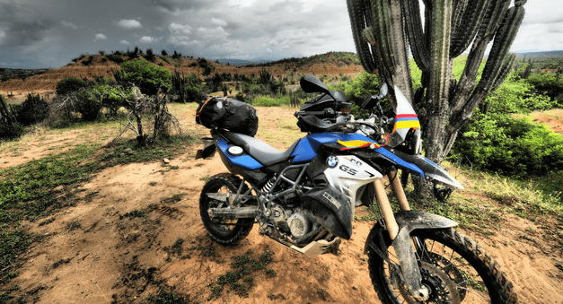 BMW GS in Colombia