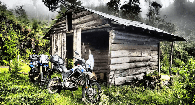 Motorcycle trip in Colombia