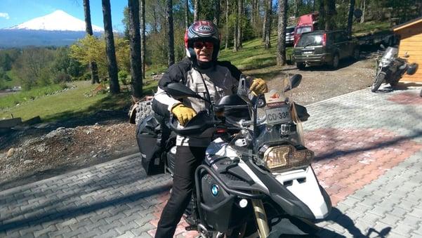 Daan Teeuwissen Patagonia Motorcycle Adventure