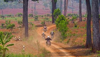 Dirt Riding Motorcycles Thailand