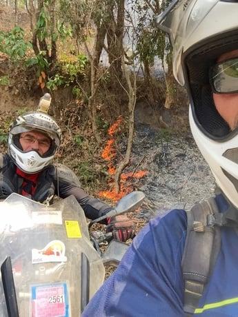 Dry Season Fires Thailand