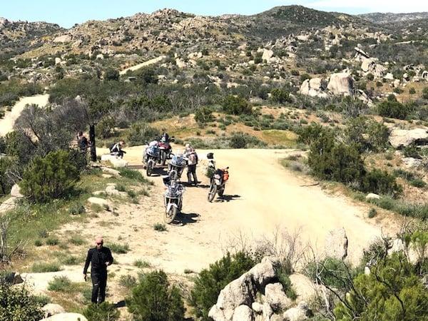 Compadre Trail Ojos Negros Baja