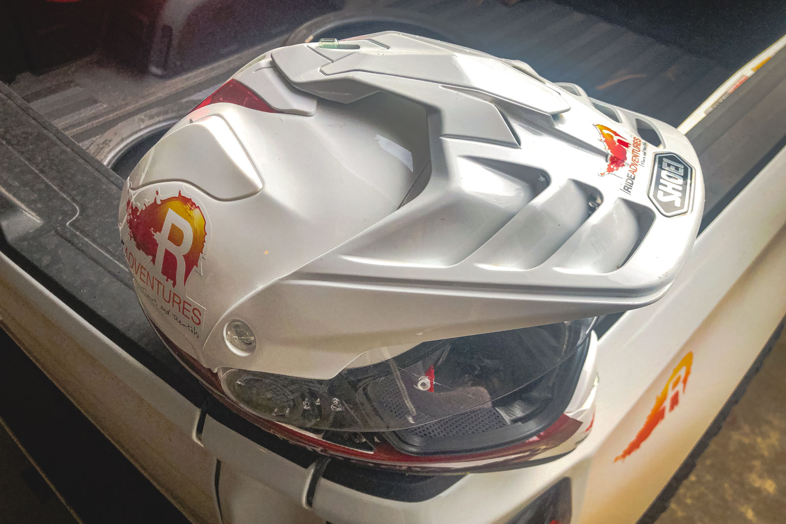 Shoei Hornet X2 Duel Sport Helmet vents