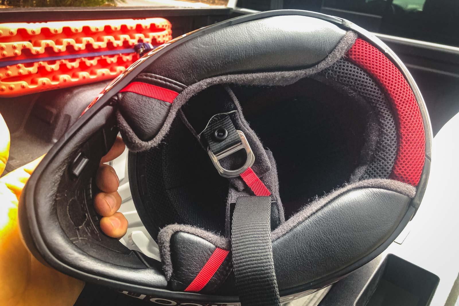 Shoei Hornet X2's Interior