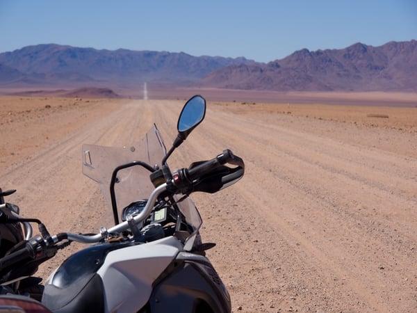 Desert Riding Adventure Bike