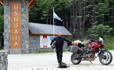 Solo Rider Patagonia Motorcycle Rental